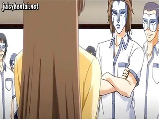 wicked youthful anime babe sucks dick and