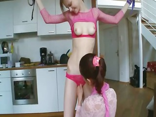 40yo russian chicks playing with toys