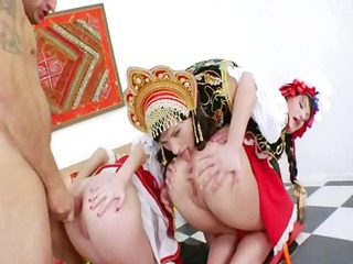 russian anal lesbian babes toying