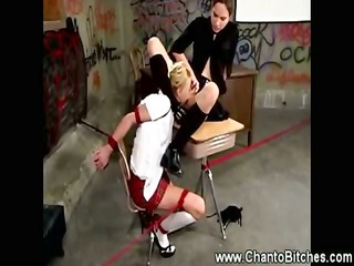 worthless student bitch acquires punished by her